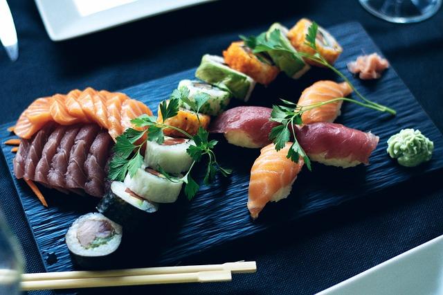Las delicias de la comida japonesa